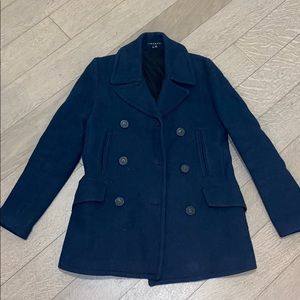 Amazing condition Theory navy wool coat